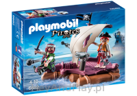 PLAYMOBIL Tratwa piracka 6682