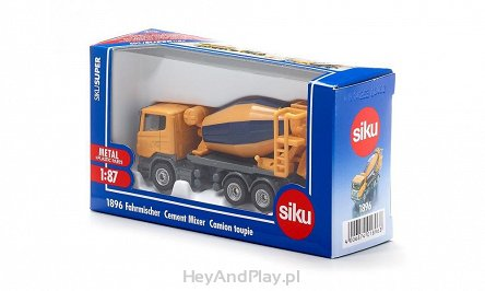 Siku Super Betoniarka Mixer Truck 1896