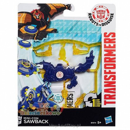 Hasbro Transformers Mini-con Sawback B1974 B0763