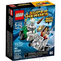 LEGO SUPER HEROES Mighty Micros: Wonder Woman kontra Doomsday 76070