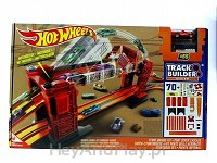 HOT WHEELS Kaskaderski most - klocki 70 szt