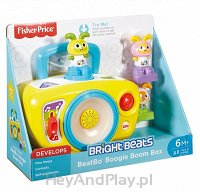 Fisher-Price Interaktywny Magnetofonik Bebo FJB66