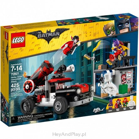 Lego Batman Movie Armata Harley Quinn 70921