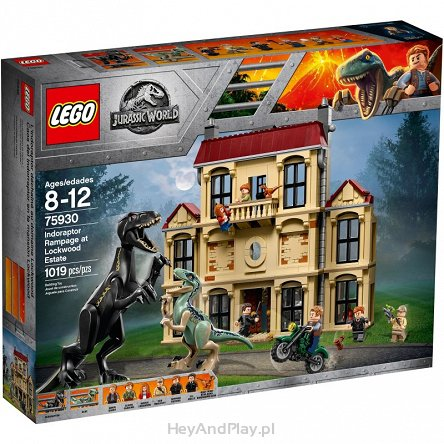 Lego Jurassic World Atak Indoraptora 75930