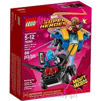 Lego Super Heroes Star Lord vs Nebula 76090