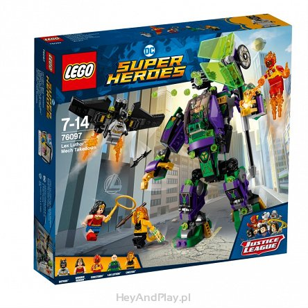 Lego Super Heroes Lex Luthor Mech Takedown 76097