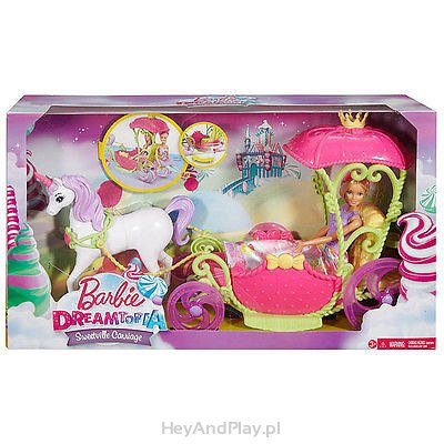 Barbie Dreamtopia Sweetville Carriage DYX32