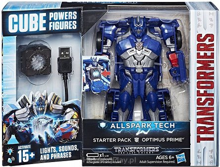 Transformers Allspark Tech Starter Pack Optimus Prime C3479