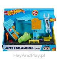 Hot Wheels City Aligator w Warsztacie FNB06