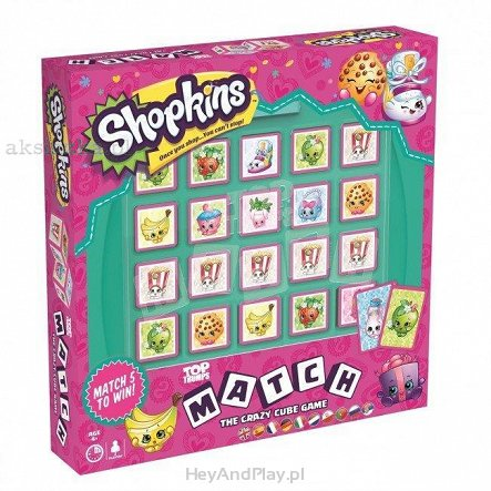 Top Trumps Gra Match Shopkins 002664