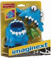 Fisher-Price Imaginext Niebieski kosmita