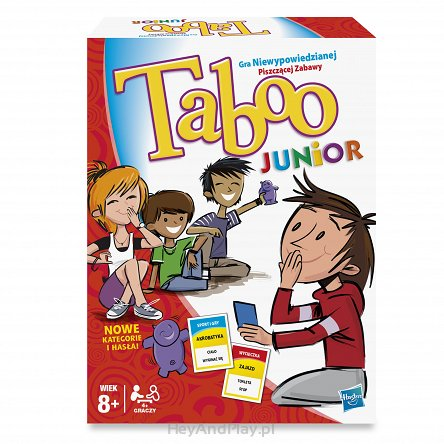 Hasbro Gra Taboo Junior 14334